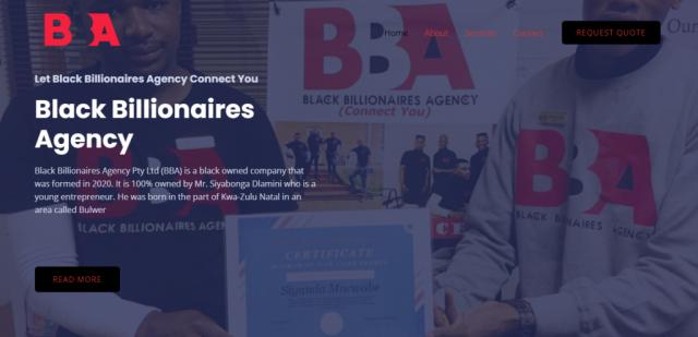 Black Billionaires Agency-Cash Sales Of Vehicles