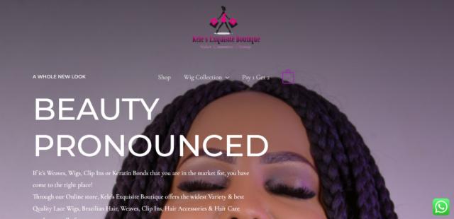 Kele's Exquisite Boutique-Online Store