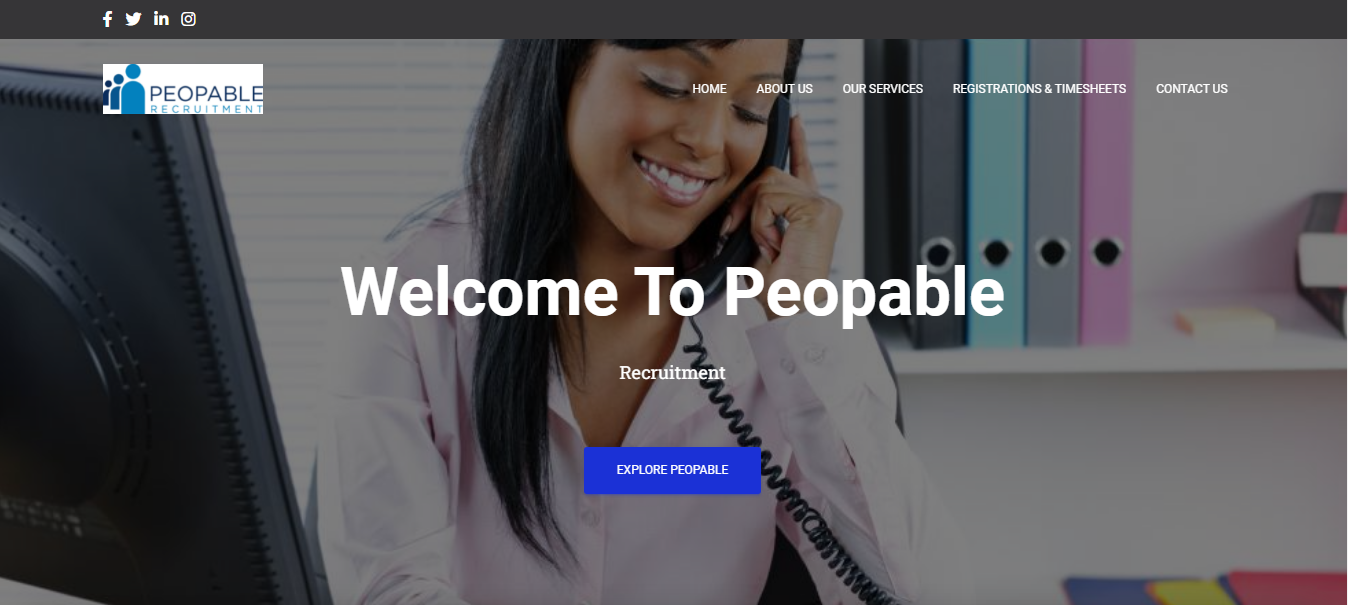 Peopable Recruitment