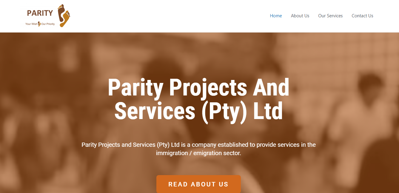 Parity Projects And Services-Services In The Immigration / Emigration Sector